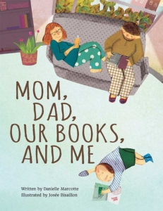 Mom,Dad, our Books and Me