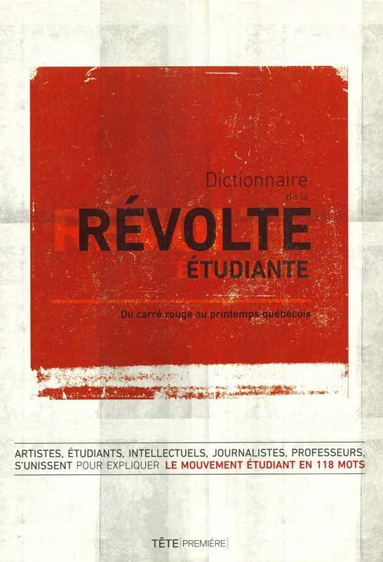 Dictionnaire de la révolte étudiante